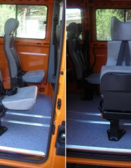 sedili monoposto per disabili