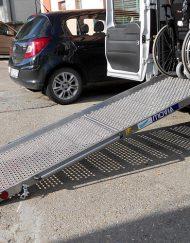 rampa a scivolo per disabili