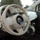 acceleratore sotto al volante per disabili