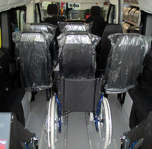 furgone trasporto disabili