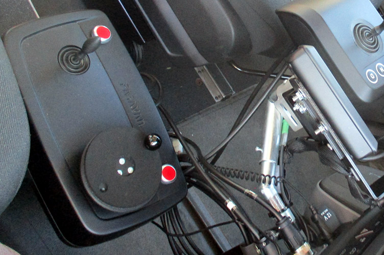test drive per tetraplegici