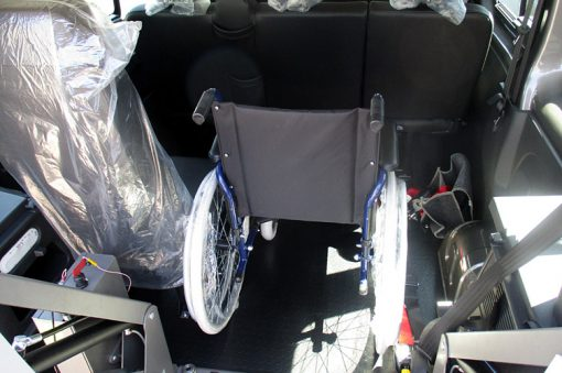 Trasporto disabili su furgone
