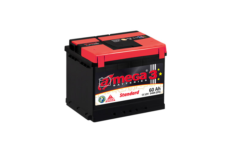 Batterie per auto Mega.