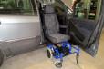 sedile auto - seduta carrozzina