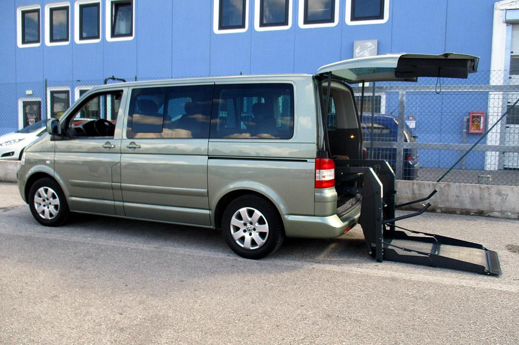 minivan usati disabili - Multivan 2004 220mila