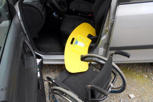 assicella per trasferimento disabili