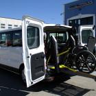 Vivaro trasporto 2 carrozzine
