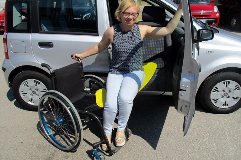 Sedile Girevole disabili