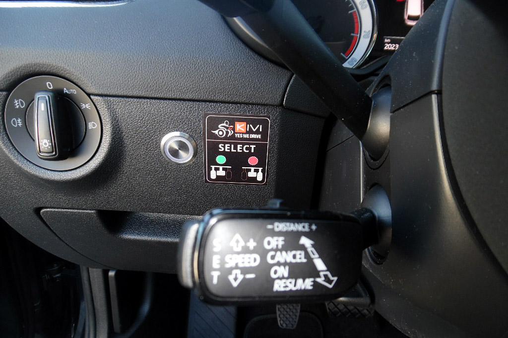 inversione del pedale elettronica