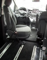 Sali e Guida su Mercedes