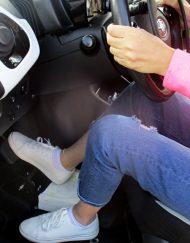 Guida distrofici su vettura