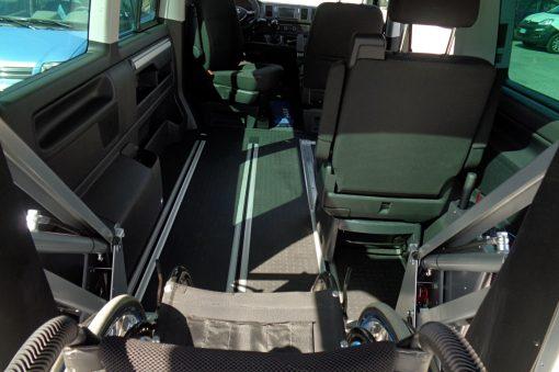 Sali e Guida su VW Multivan