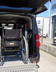 jumpy trasporto disabili