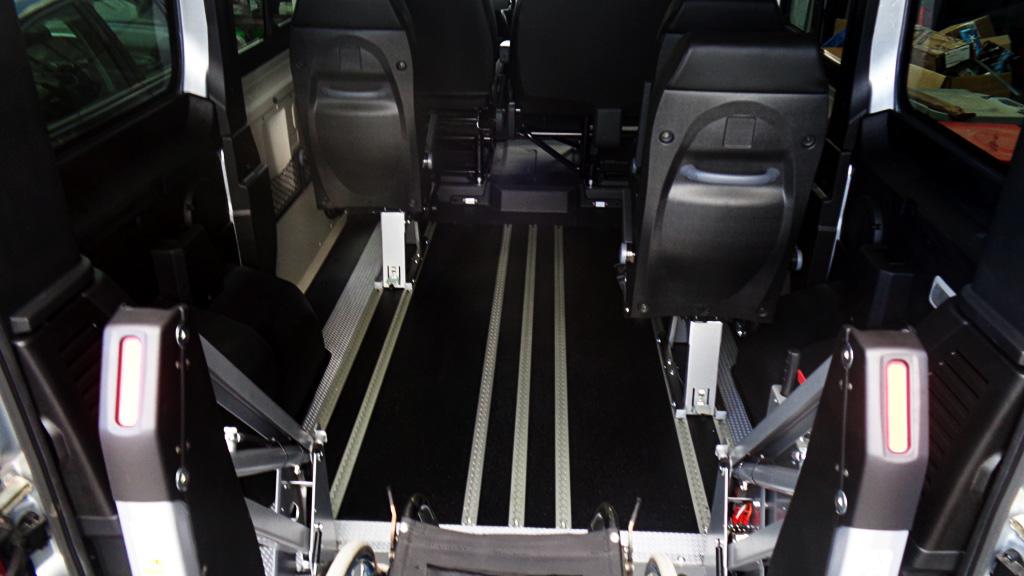 Passo corto trasporto disabili